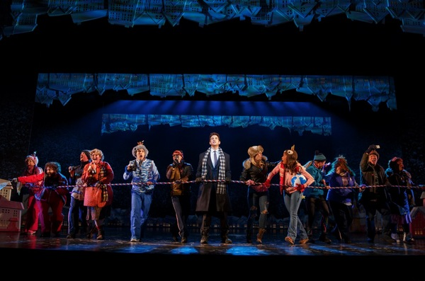 Photo Flash: Welcome to Smalltown, USA! First Look at GROUNDHOG DAY on Broadway