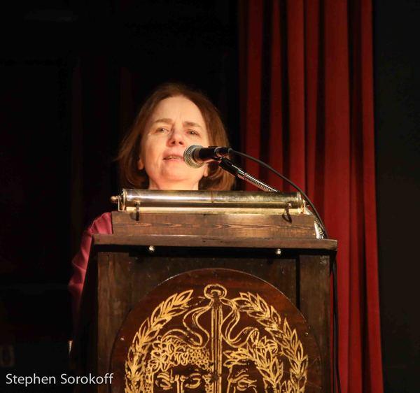 Photo Coverage: Dutch Treat Club Hosts New York Times Columnist Gail Collins & Vocalist Richard Malavet