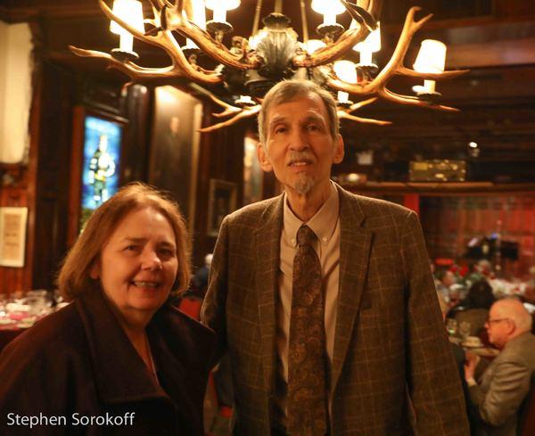 Gail Collins & Ray Errol Fox, Dutch Treat Club, President Photo