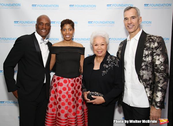 Kenny Leon, Lynda R. Diamond, Joy Abbott and Jerry Mitchell
