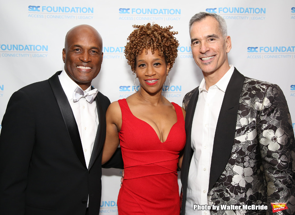 Kenny Leon, Judine Somerville and Jerry Mitchell