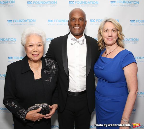 Joy Abbott, Kenny Leon and Laura Penn