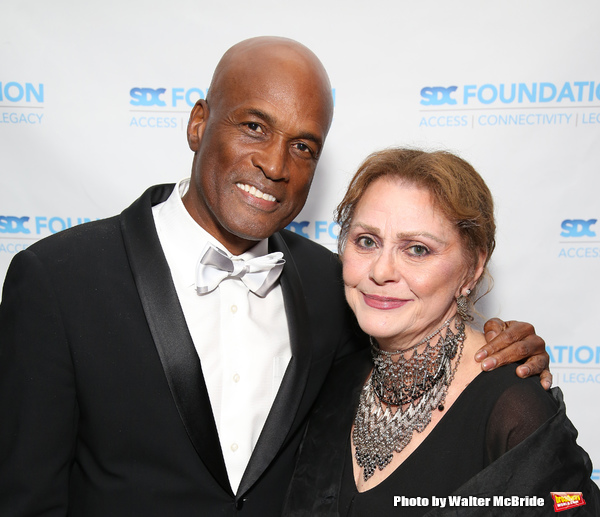 Kenny Leon and Elizabeth Ashley