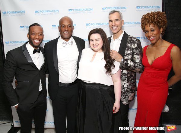 Kenny Leon, Maddie Baillio, Jerry Mitchell and Judine Somerville