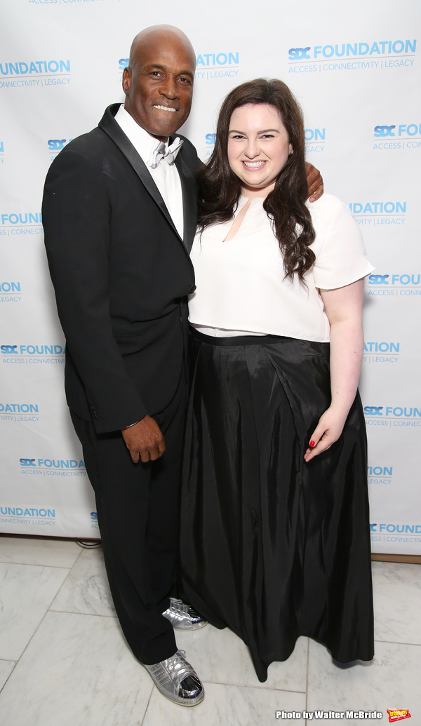 Kenny Leon and Maddie Baillio