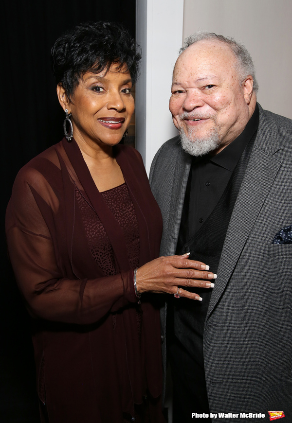 Phylicia Rashad and Stephen McKinley