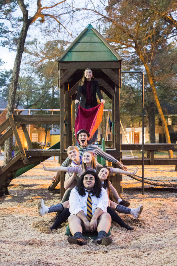 Abby Holmes, Alex Kerry, Justin Vrana, April Palm, Cassidy D'Agostino, and Joseph Con Photo