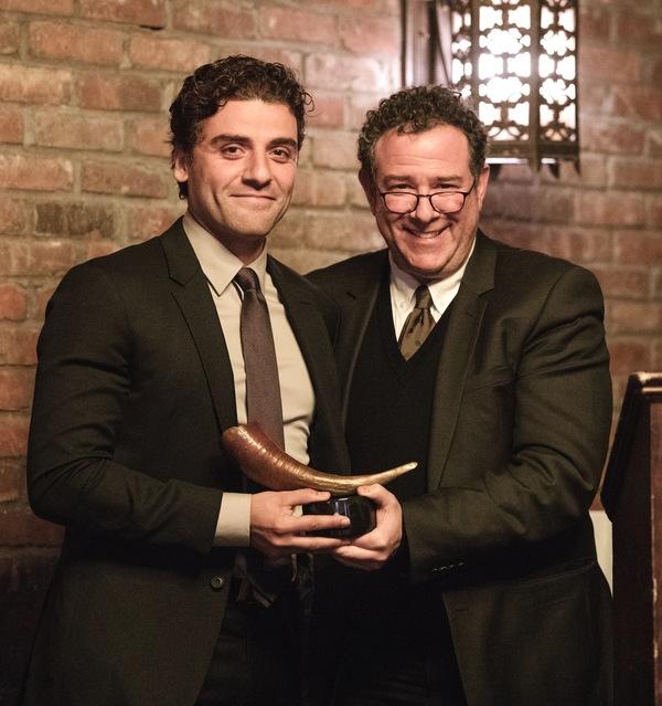 Oscar Isaac with Michael Greif