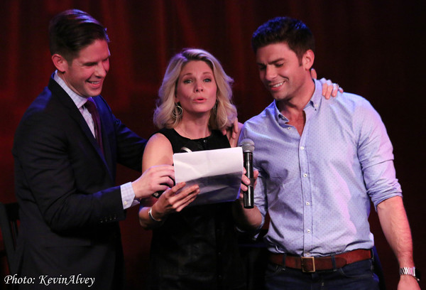 Photo Flash: SHOW BIZ AFTER HOURS WITH FRANK DILELLA Welcomes Kelli O' Hara, Claybourne Elder, and More