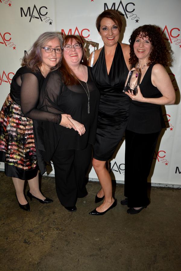 Eve Eaton, Rachel Hanser, Karen Mack and Wendy A. Russell