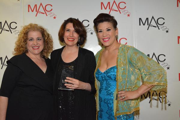 Mary Testa, Meg Flather and Doreen Montalvo