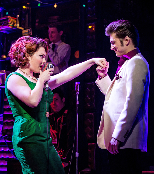 Photo Flash: Handsome Men! First Look at MILLION DOLLAR QUARTET at Paper Mill Playhouse