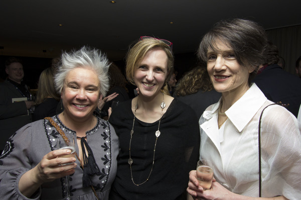 Emma Rice, Tamara Harvey and Harriet Walter