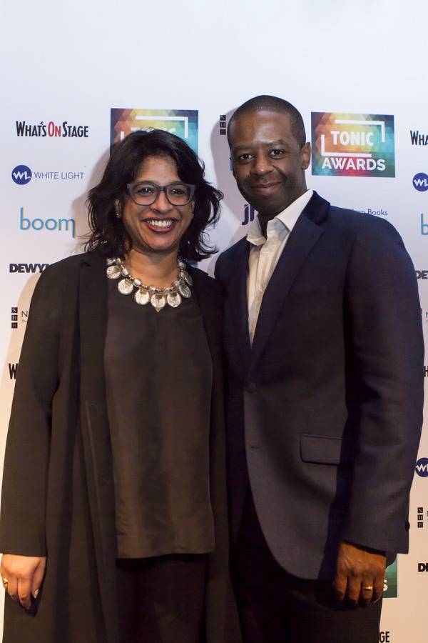 Indhu Rubasingham and Adrian Lester