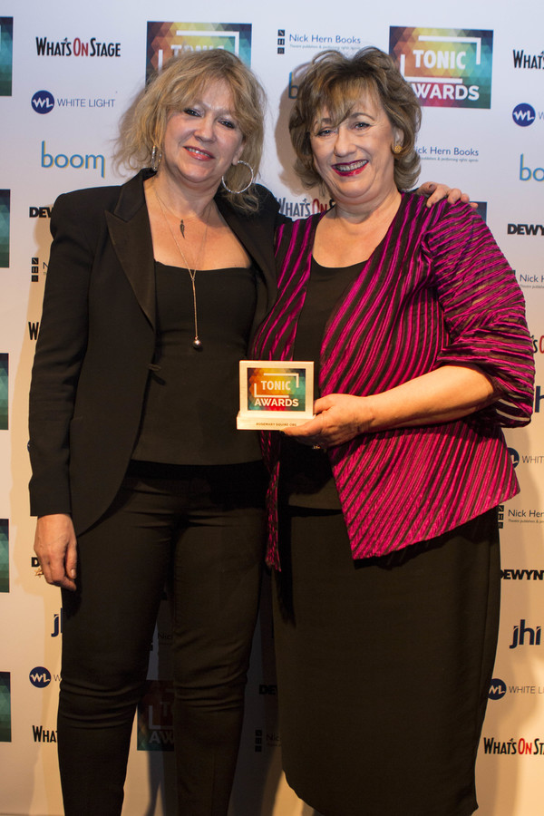 Sonia Friedman and Rosemary Squire