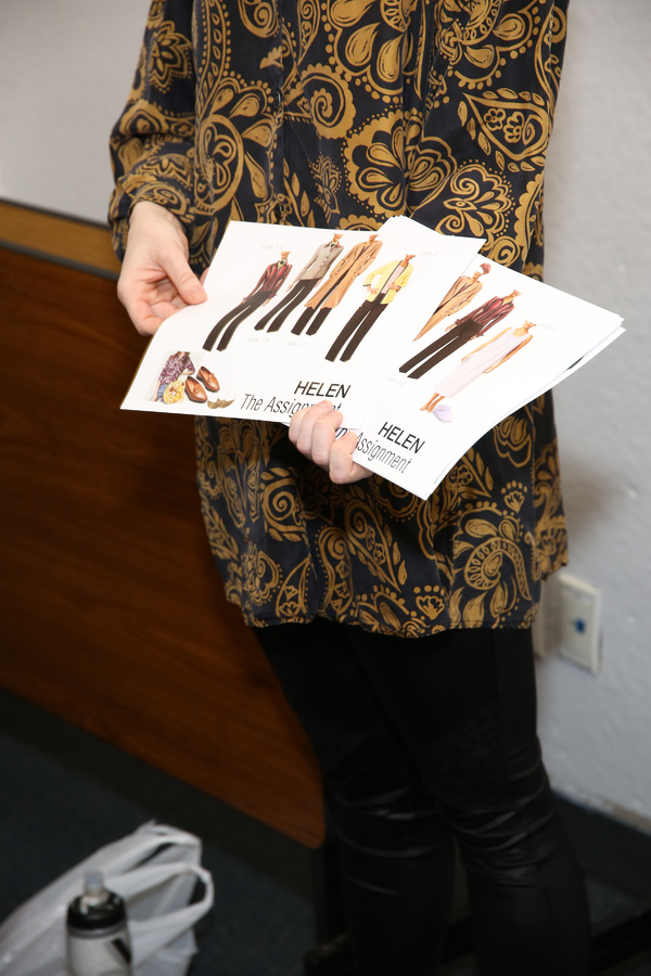 Photo Flash: THE ASSIGNMENT Kicks Off with Meet and Greet and Design Presentation