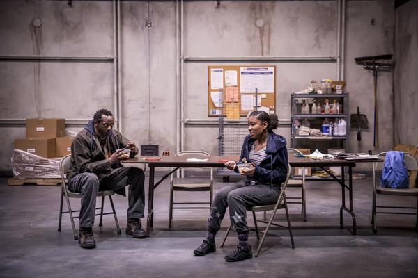 Photo Flash: BEYOND CARING Comes to Lookingglass Theatre Company