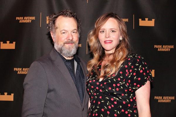 David Costabile and Eliza Baldi