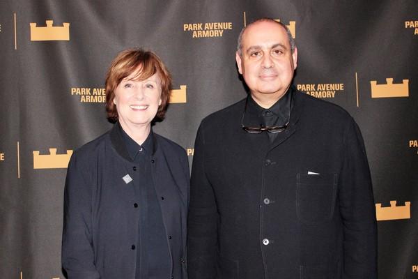 Rebecca Robertson and Pierre Audi