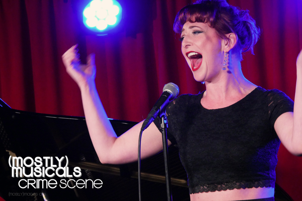 Photo Flash: (mostly)musicals Returns to the E Spot Lounge with CRIME SCENE