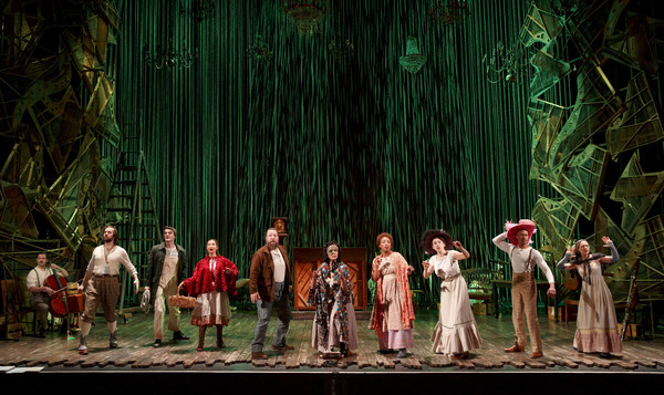 "The cast of the Fiasco Theater production of ""Into the Woods,� which plays April 4 through May 14, 2017, at Center Theatre Group/Ahmanson Theatre. For tickets and information, please visit CenterTheatreGroup.org or call (213) 972-4400. Media Contact:"