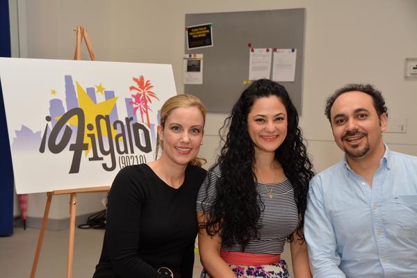 Raquel Suarez-Groen, Samarie Alicea and Jose Adan Perez