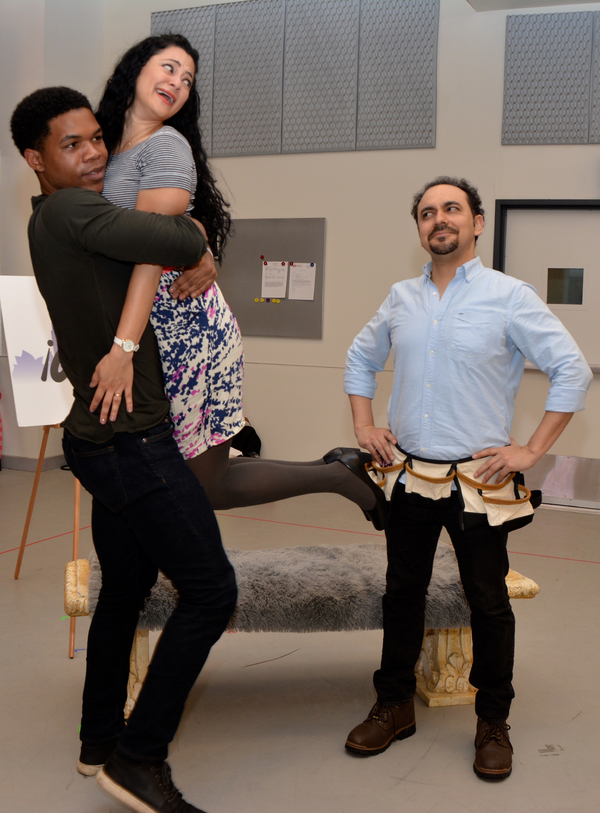 Christian Byrdsong, Samarie Alicea and Jose Adan Perez