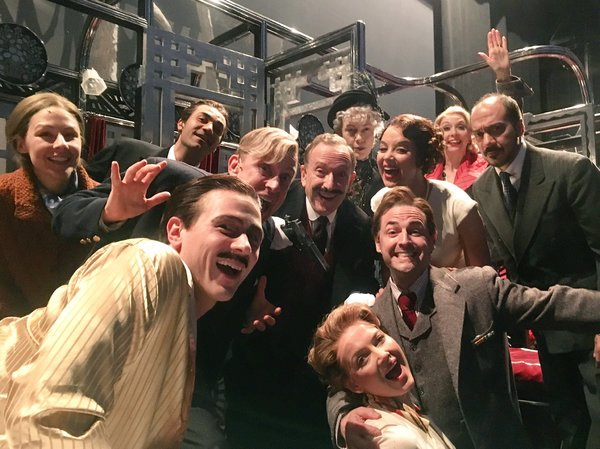 Murder on the Orient Express (Regional): @MaxizPad Where did the time go? We close tomorrow here at The @McCarter Theatre! Places for Act 2!! #SIP #McCarterMOTOE #OrientExpress