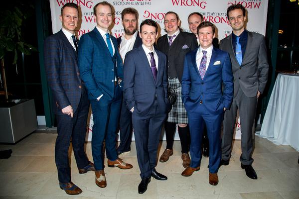 Dave Hearn, Greg Tannahill, Henry Lewis, Jonathan Sayer, Rob Falconer, Jonathan Fielding, Matthew Cavendish, Henry Shields