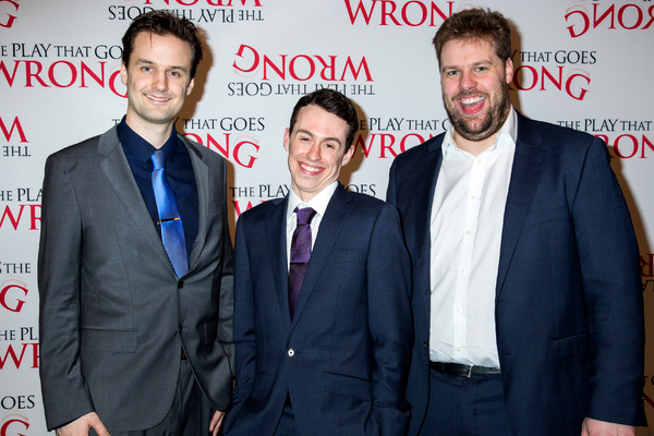 Photo Coverage: Opening Night Goes Right! THE PLAY THAT GOES WRONG Celebrates Broadway Arrival!