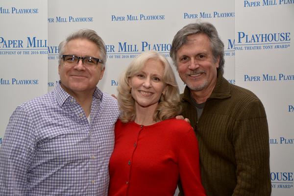 Frank Lombardi, Elizabeth Ward and Ken Land Photo