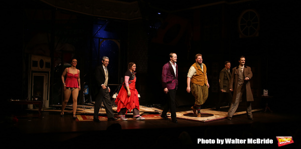 Charlie Russell, Jonathan Sayer, Nancy Zamit, Greg Tannahill, Henry Lewis, Henry Shields and Dave Hearn