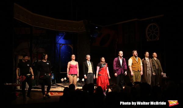 Matthew Cavendish, Bryony Corrigan, Charlie Russell, Jonathan Sayer, Nancy Zamit, Gre Photo