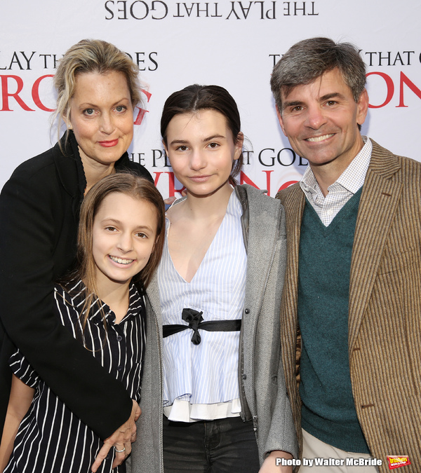 Alexandra Wentworth, Elliott Anastasia Stephanopoulos, Harper Andrea Stephanopoulos and George Stephanopoulos