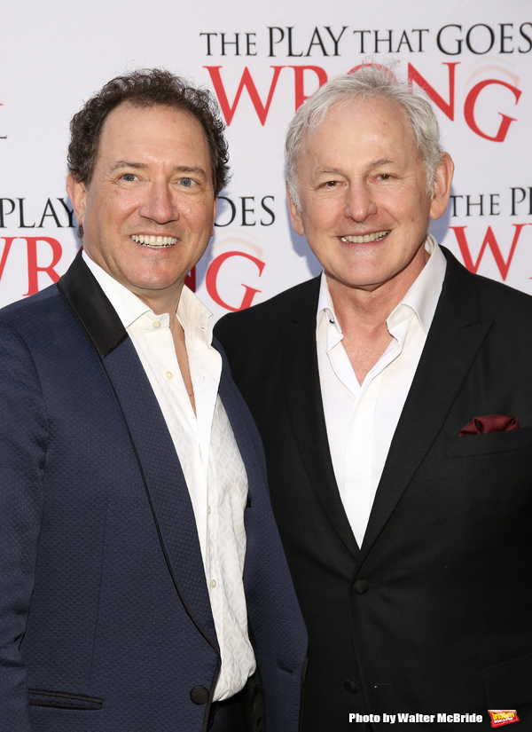 Kevin McCollum and Victor Garber