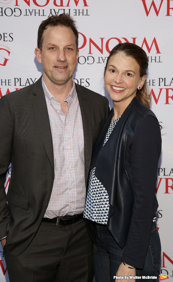 Ted Griffin and Sutton Foster