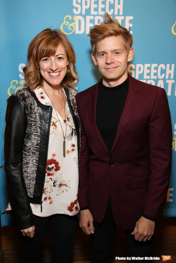 Kate Wetherhead and Andrew Keenan Bolger