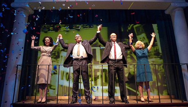 Photo Flash: First Look at J. Kenneth Campbell, Marckenson Charles  and More in ALL THE WAY at Actors' Playhouse