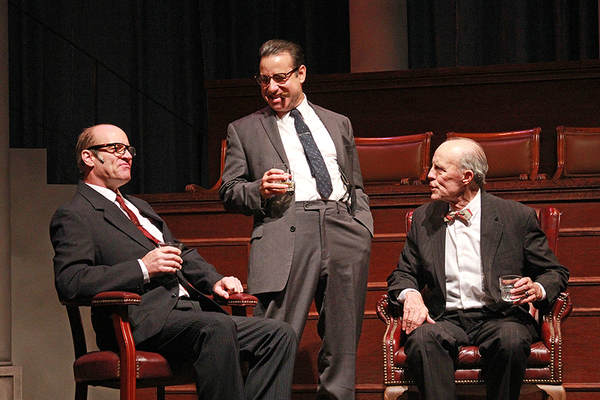 Tom Wahl, Chaz Mena and Peter Haig