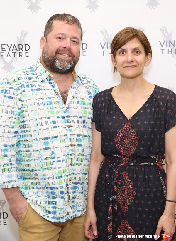 Director Peter DuBois and playwright Gina GIonfriddo