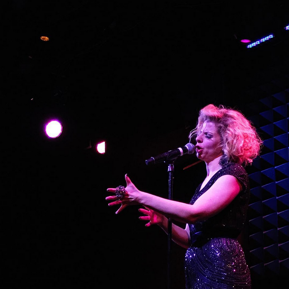BWW Review: Lady Rizo Salutes the RED, WHITE AND INDIGO at Joe's Pub