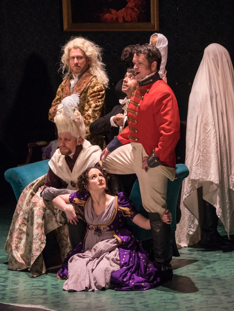 BWW Review: Sharp Cast Brings Scandal to the Stage in Pearl Theatre Co.'s VANITY FAIR