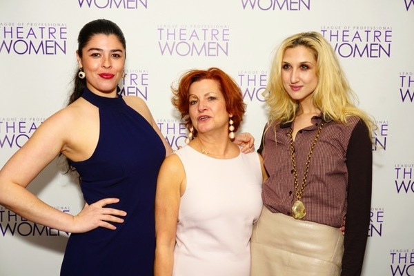 League of Professional Theatre Women Networking Salon Chair and Wild Banshee Co-Founder, Katherine Elliot, LPTW Board Member, F