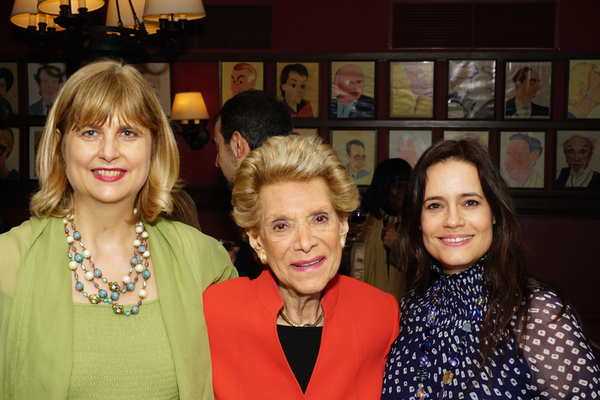 Ludovica Villar-Hauser, Margot Astrachan, and Elizabeth Jasi