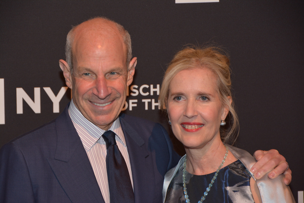 Jonathan Tisch and Allyson Green