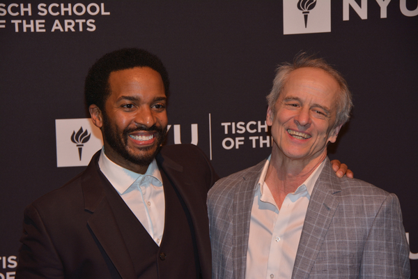 Andre Holland and Jim Calder