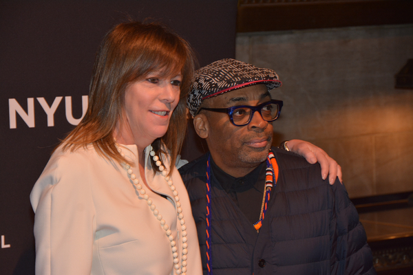 Jane Rosenthal and Spike Lee