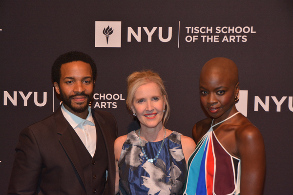 Photo Coverage: WALKING DEAD and MOONLIGHT Stars Honored at 2017 Tisch Gala