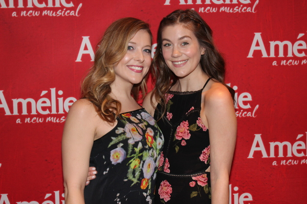 Photo Coverage: The Cast of AMELIE Journeys All the Way to the Opening Night After Party!