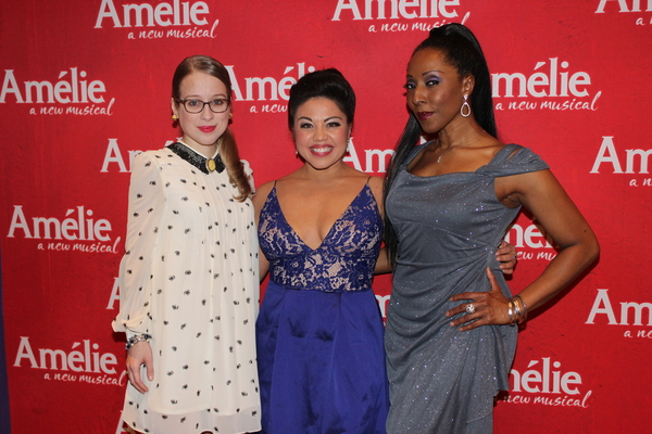 Alyse Alan Louis, Maria-Christina Oliveras and Harriet D. Foy Photo